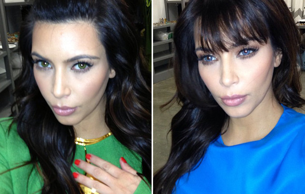 Kim Kardashian -- What'd She Do to Her Eyes?