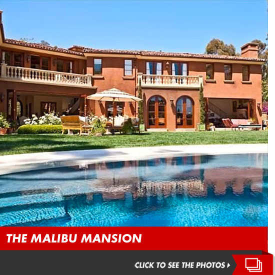 Brooke burke rent my giant malibu pad for 50k a for Malibu mansions for rent