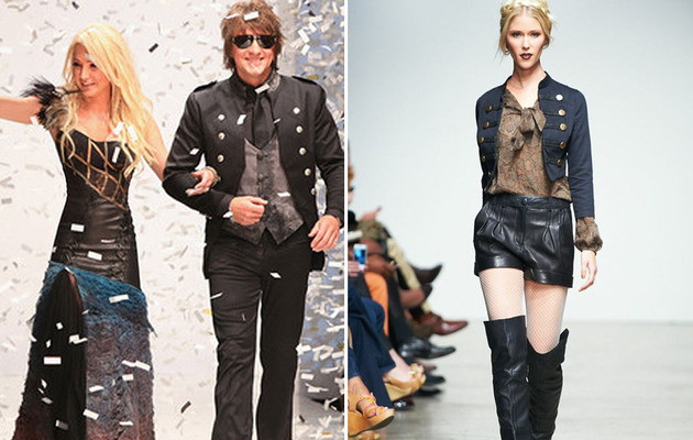 Check Out Richie Sambora's Latest Fashion Collection!