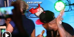 Kate Upton -- NOT the Main Attraction ... For Once