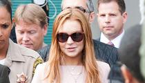 Lindsay Lohan -- Still Drinking, Despite Rehab Sentence