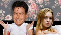 Lindsay Lohan Nails 'Anger Management' And Charlie Sheen