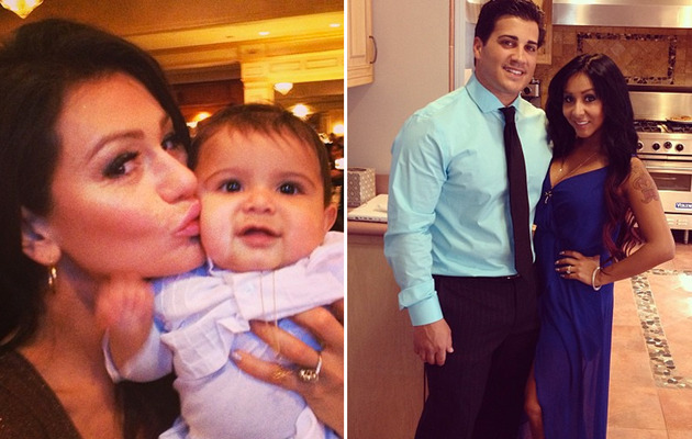 Snooki Tweets Photos from Inside Lorenzo's Baptism
