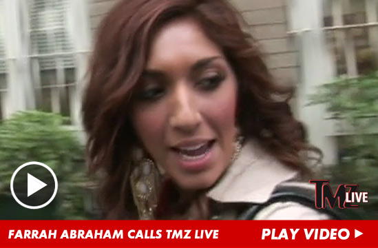 "Teen Mom "" star Farrah Abraham just admitted to drinking and driving"