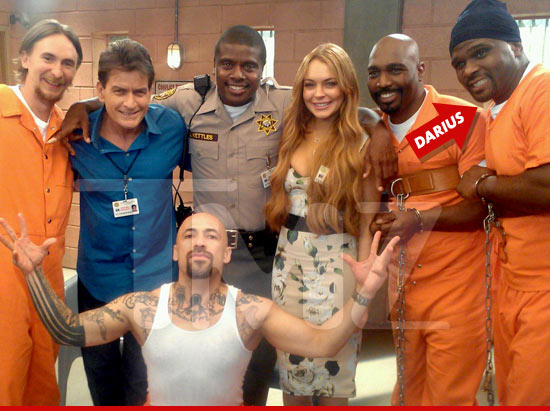 Lindsay Lohan -- I'm in Jail with Eddie Winslow!