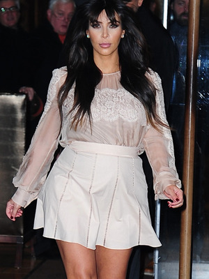 Kim Kardashian on Maternity Style: I'm Going to Keep Wearing Heels!