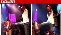 Pharrell -- Nazi Goosestepping During Live Concert