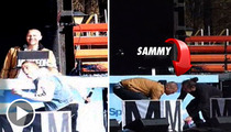 Rapper Sammy Adams Collapses On Stage -- SCARY VIDEO