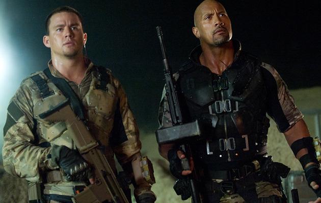 """""""G.I. Joe: Retaliation"""" Review: The Rock Steals the Gun Show"""
