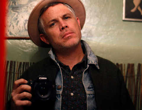 """Ross Harris -- now a <a href=""""http://rossangeles.net/"""" target=""""_blank"""">director and photographer</a> -- was photographed looking punk rock."""