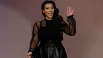 Kim Kardashian Talks Baby Names, Addresses Haters