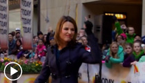 Savannah Guthrie Flips Off Matt Lauer -- Your Vacuum Joke SUCKS!