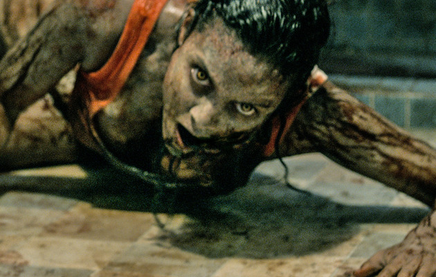 "New ""Evil Dead"" Star: How I Became A Nasty-Looking Zombie!"