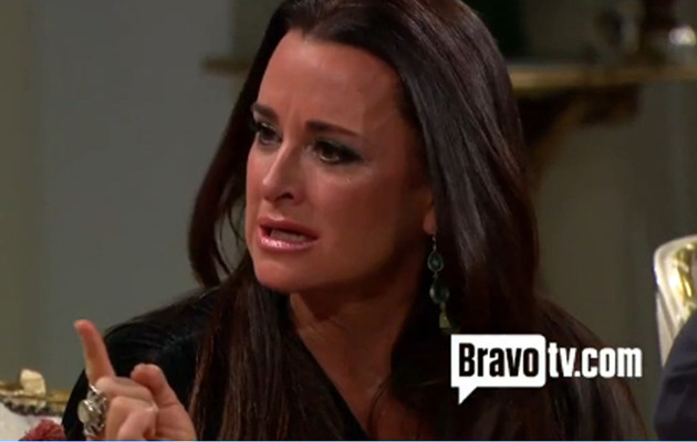 """Real Housewives of Beverly Hills"" Reunion: What Made Kyle Richards Cry?"