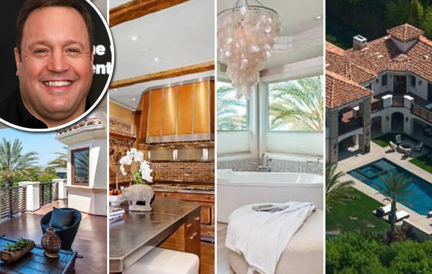 "EXCLUSIVE: Kevin James Selling Massive Mansion -- See ""King of Queens"" Star's Palace!"