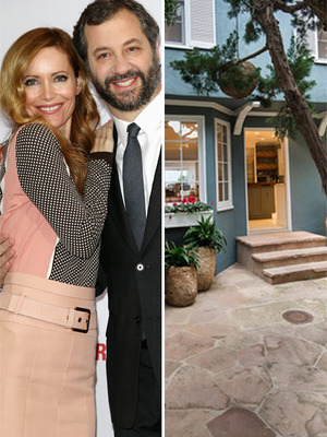 Judd Apatow and Leslie Mann Moving to Malibu!