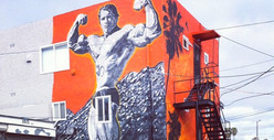Arnold Schwarzenegger -- I&#039;m Huge at Muscle Beach!