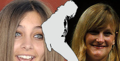 Debbie Rowe and Paris Jackson -- REUNITED!!!