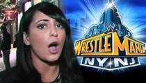 Angelina from 'Jersey Shore' -- No WrestleMania Freebies for You!