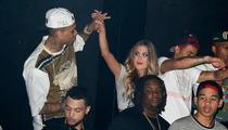 Chris Brown's Mystery Blonde -- 'I Don't Go For Black Guys'
