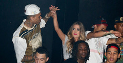 Chris Brown's Mystery Blonde -- 'I Don't Go For Black Guys'