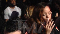 Rihanna -- Burning Up After Chris Brown Split