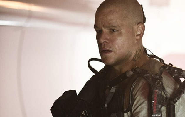 """Elysium"" Trailer: Matt Damon is a Bald Badass!"