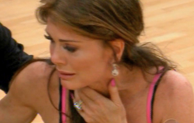 "Video: Lisa Vanderpump Faints on ""Dancing with the Stars"""