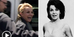 Britney Spears -- Everyone Mourns Annette Funicello In Their Own Way