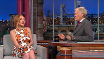 David Letterman GRILLS Lindsay Lohan -- Are You An Addict???