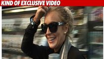 Lindsay Lohan -- 'Feels Good' to Be Out!