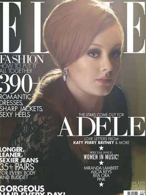 Adele Looks Amazing on the Cover of Elle, and That's What It's All About