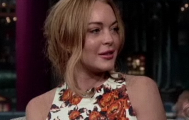Lindsay Lohan Tears Up Talking About Rehab