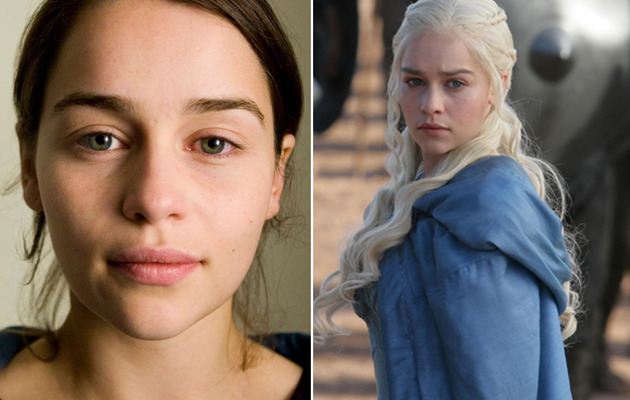 """""""Game of Thrones"""" Star Emilia Clarke Goes Makeup-Free!"""