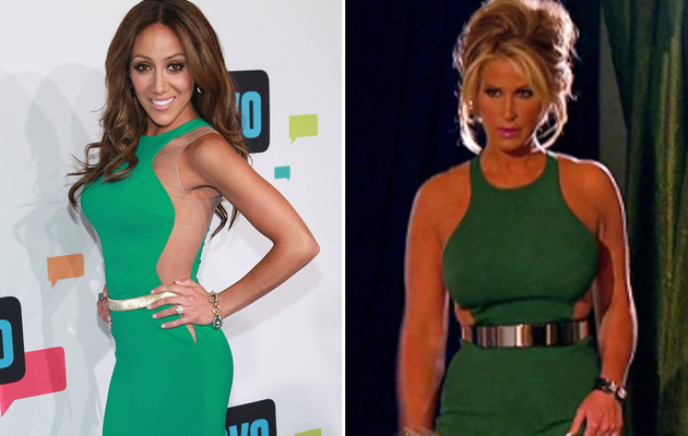 Dueling Dresses: Melissa Gorga vs. Kim Zolciak!