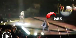 DMX -- Crashes Alicia Keys Concert ... UP IN HERE!!