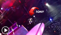 Tony Hawk Launches Off High Dive ... On a SKATEBOARD [VIDEO]