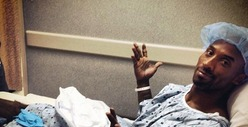 Kobe Bryant -- Getting Surgery, High on Pain Pills