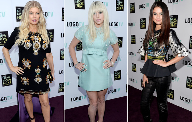 2013 NewNowNext Awards: Ke$ha Cleans Up, Selena Gets Edgy