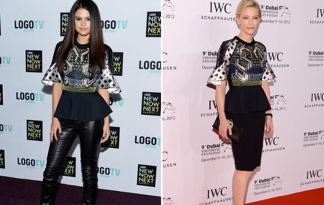 Dueling Dresses: Selena Gomez vs. Cate Blanchett!