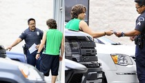 Prince Jackson -- Face Off with Cops ... GUNS OUT