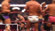 Triple H -- Victim of Birthday Cake Attack