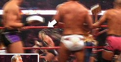 Triple H -- Victim of Birthday Cake Attack