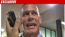 WWE Superstar John Cena -- Taking Over 'TMZ on TV'