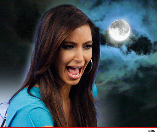 Kim Kardashian -- Hairy Everywhere ... AGAIN