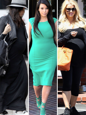 Pregnancy Style Roundup: Jenna, Kim &amp; Jessica!