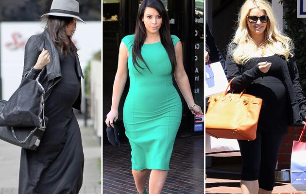 Pregnancy Style Roundup: Jenna, Kim & Jessica!