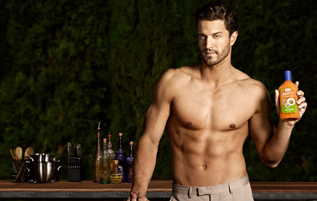 Guy Candy Alert: Meet the Kraft Zesty Italian Hunk!