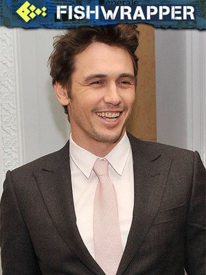 James Franco Thinks He's in on the Joke, Doesn't Realize He IS the Joke
