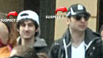 Boston Marathon Bombing -- COPS KILL SUSPECT #1 ... Hunting for Suspect #2